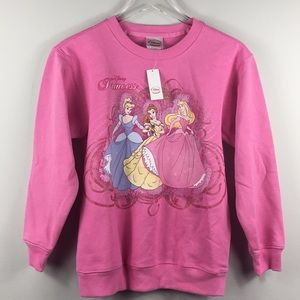 NWT Disney Pink Princess sweatshirt top